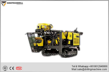 Crawler Full Hydraulic Surface Diamond Core Drill Rig Atlas Copco C8 / CS3001