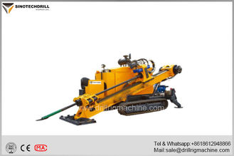 0° - 20° Drilling Angle Horizontal Directional Drilling Equipment 130 Inch Feeding Stroke