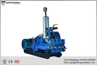 High Efficiency Small Triplex Mud Pump Horizontal Three Cylinder 320L/Min Flow BW320