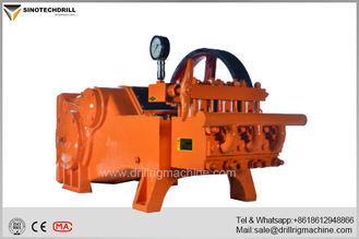 Drilling Rig Mud Pumps , Horizontal Double Cylinder Reciprocating High Pressure Mud Pump