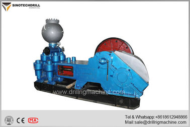 Reciprocating Double Action Piston Oilfield Mud Pumps , High Pressure Triplex Pumps