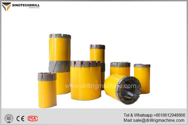 Diamond Tech Core Drill , Underground Core Drilling Hollow Core Drill Bit CE & ISO