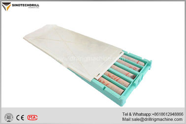 BQ NQ HQ PQ Drill Core Box With Injection Moulding Processing Polyethylene Material